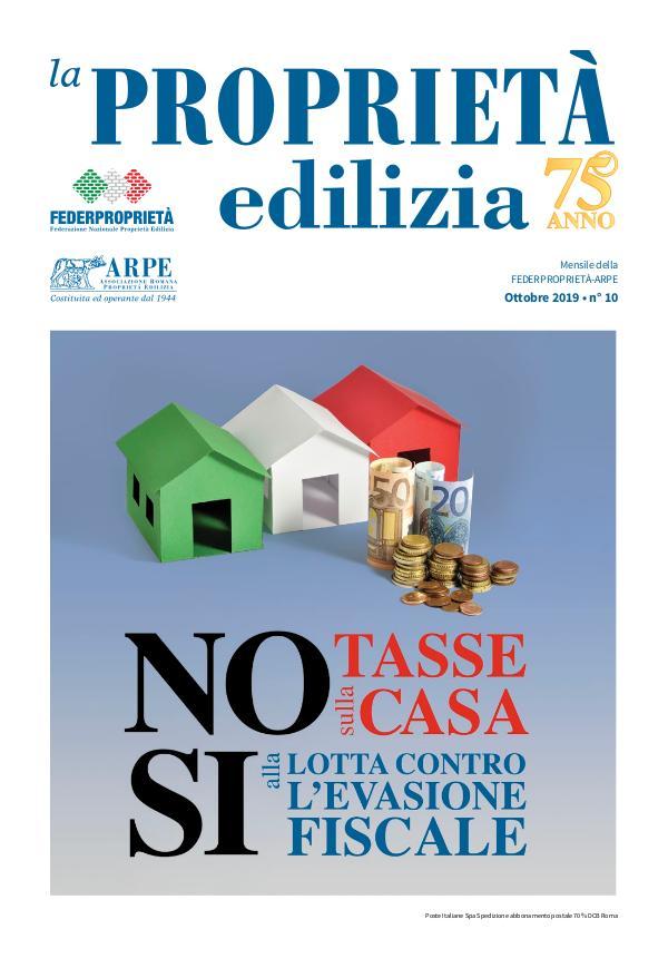 La Proprietà Edilizia - Ottobre 2019 ARPE-10