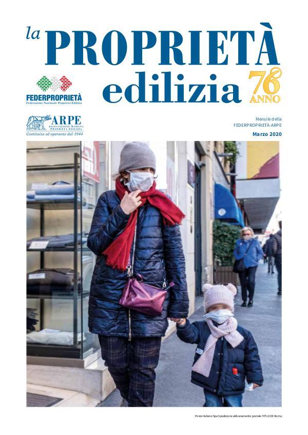 La Proprietà Edilizia - Marzo 2020 ARPE-3-web