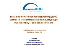 Scalable Software Defined Networking (SDN) Market Analysis | Industry