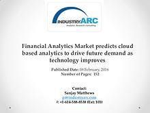 Financial Analytics Market expects North America market share dominan