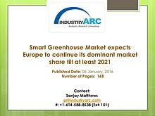 Smart Greenhouse Market expects Europe to continue its dominant marke