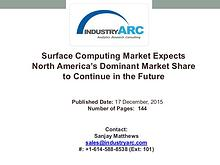 Surface Computing Market Expects North America's Dominant Market Shar