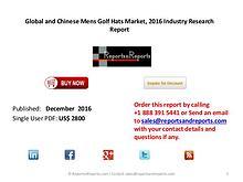 Industry Report on Mens Golf Hats Market