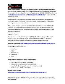 Trimethylgallium (TMG) Market Global Analysis Report