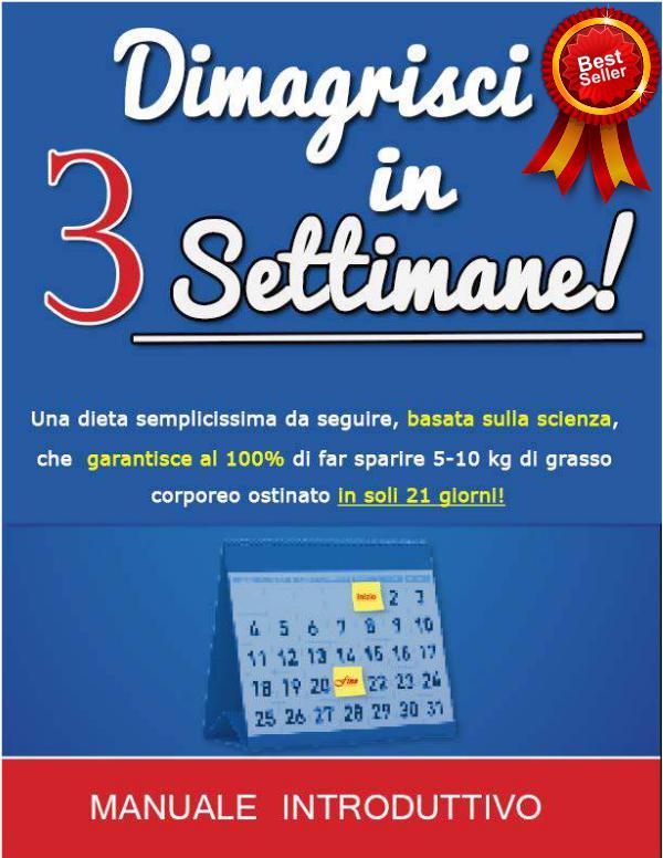 Dimagrisci in 3 Settimane Manuale Dietetico Pdf Scaricare