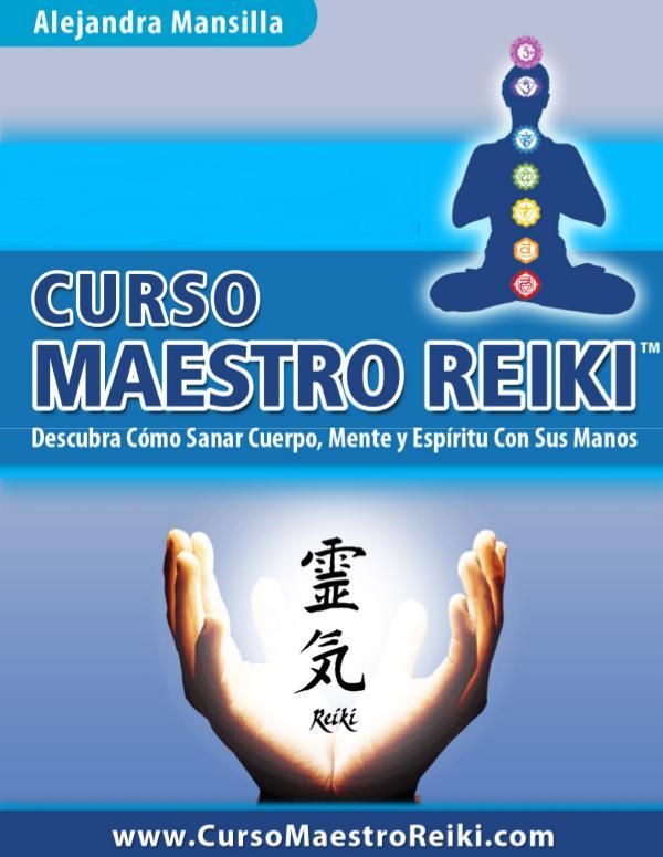 CURSO MAESTRO REIKI PDF DESCARGAR COMPLETO 2021