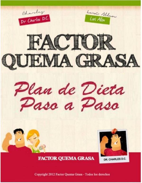 FACTOR QUEMA GRASA  EBOOK PDF DESCARGAR