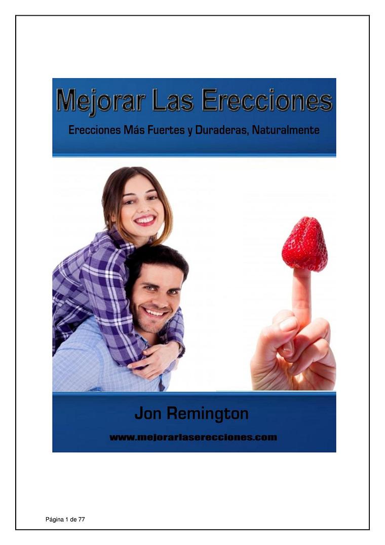 MEJORAR LAS ERECCIONES PDF GRATIS JON REMINGTON 2020