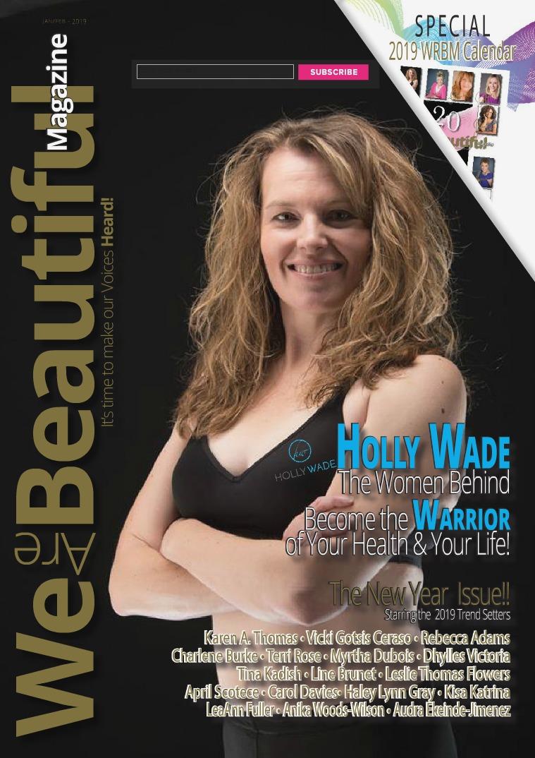 We are Beautiful Magazine 2019 WRBMagzine Jan/ Feb. 2019