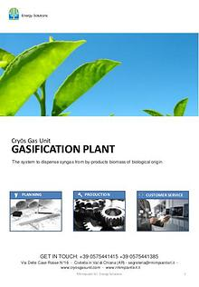 Gasification plant rm group