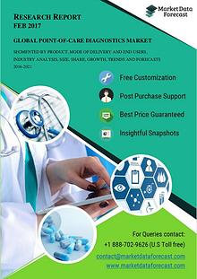 Global Point-of-care Diagnostics Market study, outlook and Opportunit