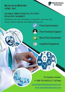 Global Market for Preclinical In-vivo Imaging is estimated to be grow