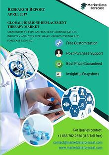 Hormone Replacement Therapy Market Poised to Reach USD 26.22 Billion