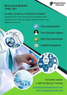 Clinical Nutrition Market - Global Industry Perspective and Forecasts