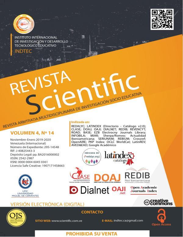 Revista Scientific Volumen 4 / Nº 14 - Noviembre-Enero 2019-2020