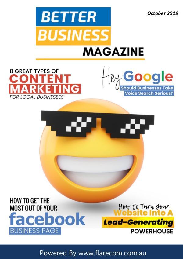 Better Business Magazine October 2019