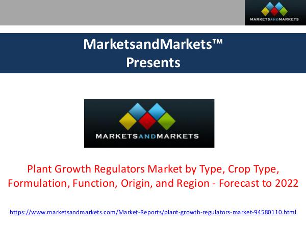 Plant Growth Regulators Market Research Report Plant Growth Regulators Market