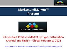 Gluten-free Products Market - Global Forecast to 2023