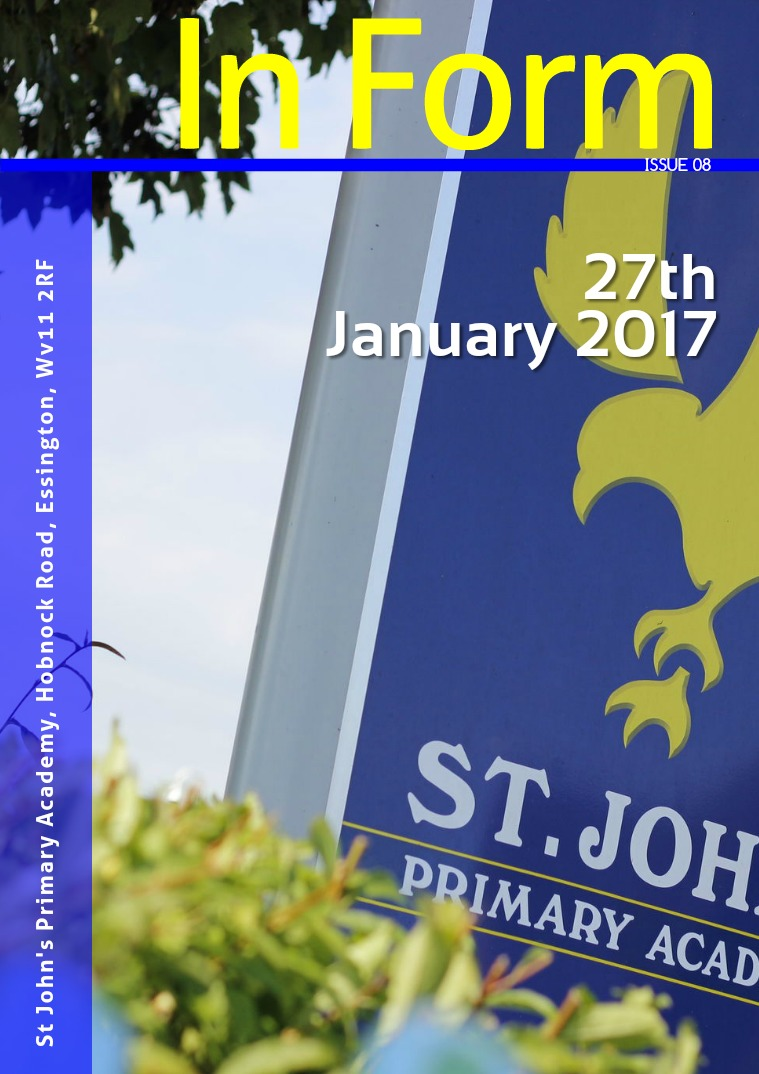Newsletter - 27th January 2017