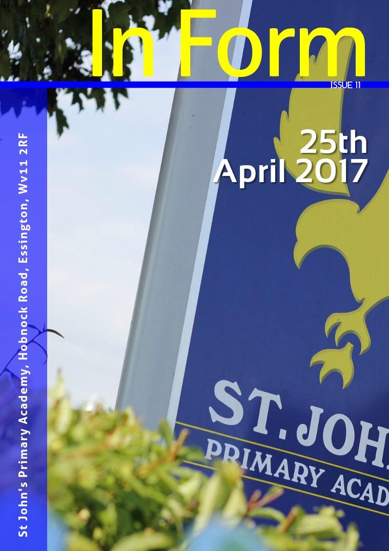 Newsletter - 25th April 2017