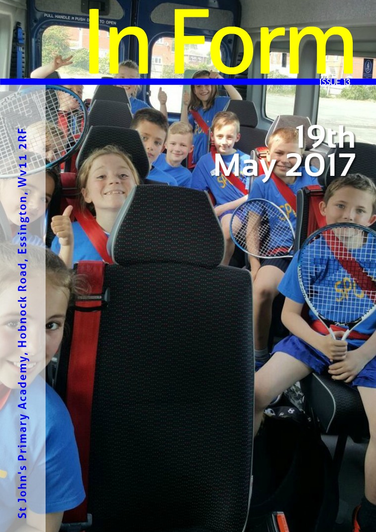 Newsletter - 19th May 2017