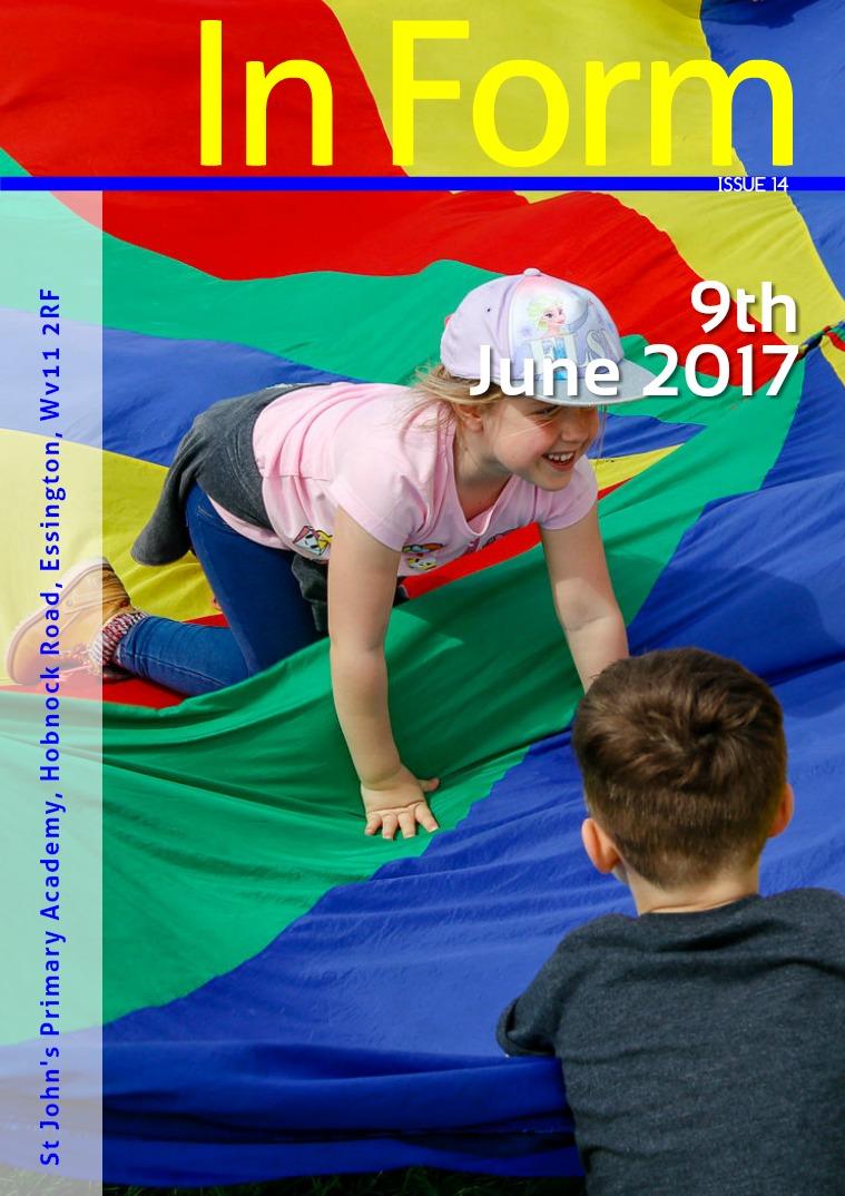 Newsletter - 9th June 2017