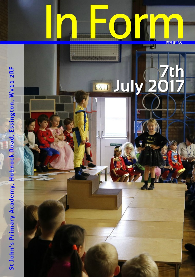 Newsletter - 7th July 2017