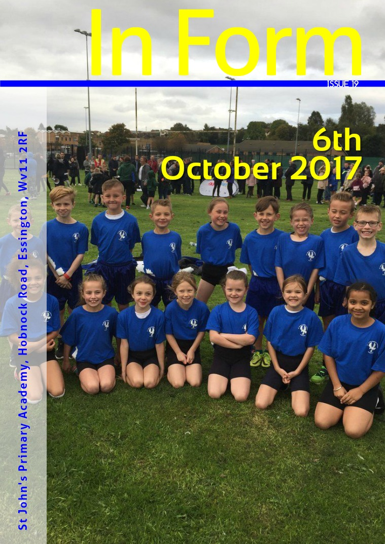 Newsletter - 6th October 2017