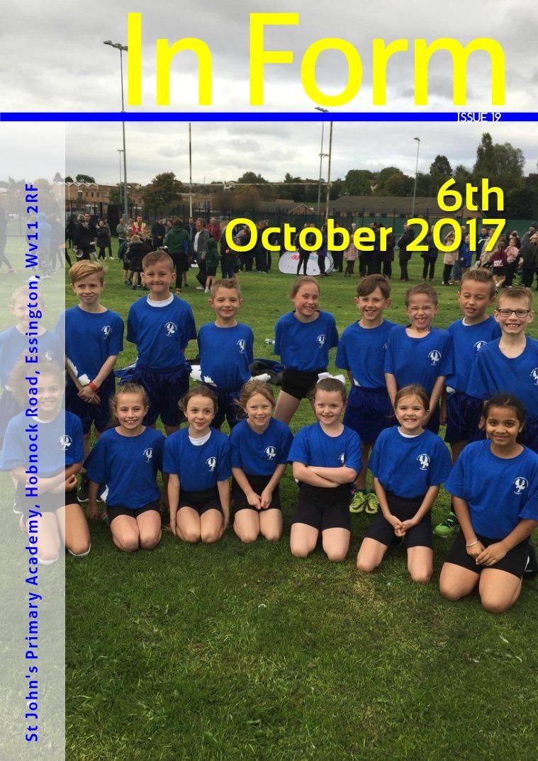 Newsletter - 6th October 2017