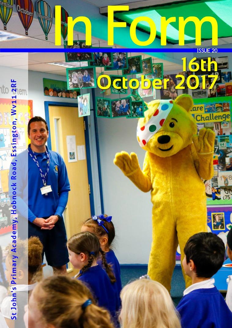 Newsletter - 16th October 2017