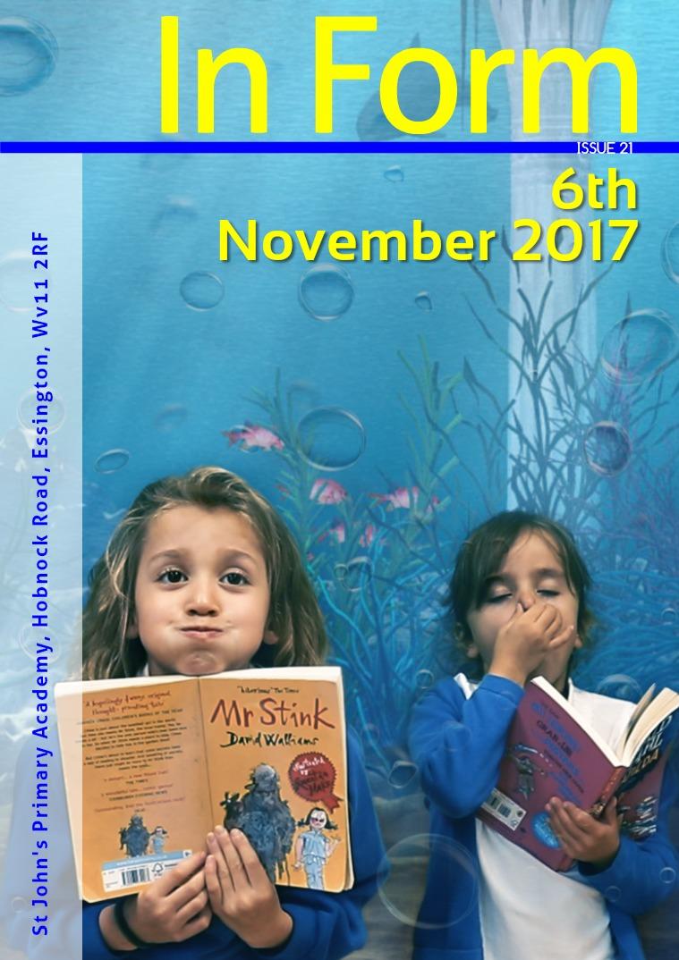 Newsletter - 3rd November 2017