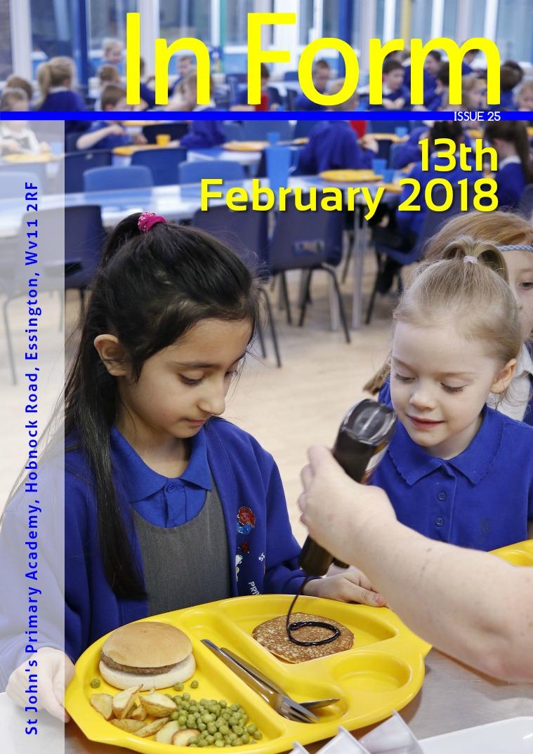 Newsletter - 13th February 2018