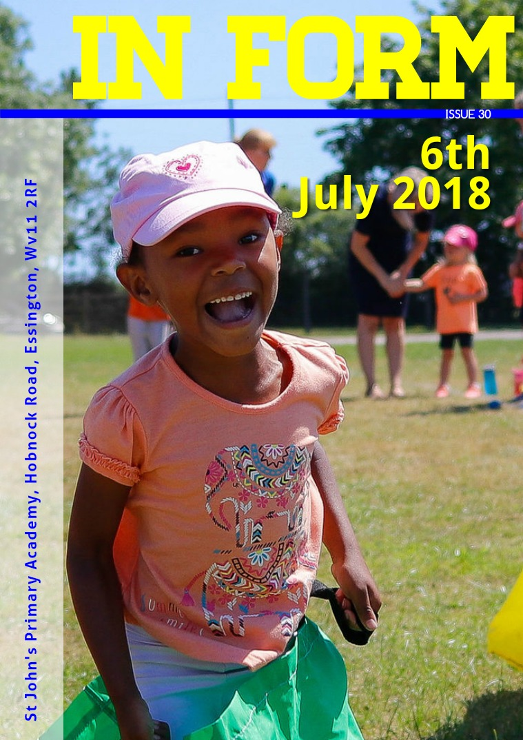 Newsletter 6th July 2018 Newsletter - 6th July 2018