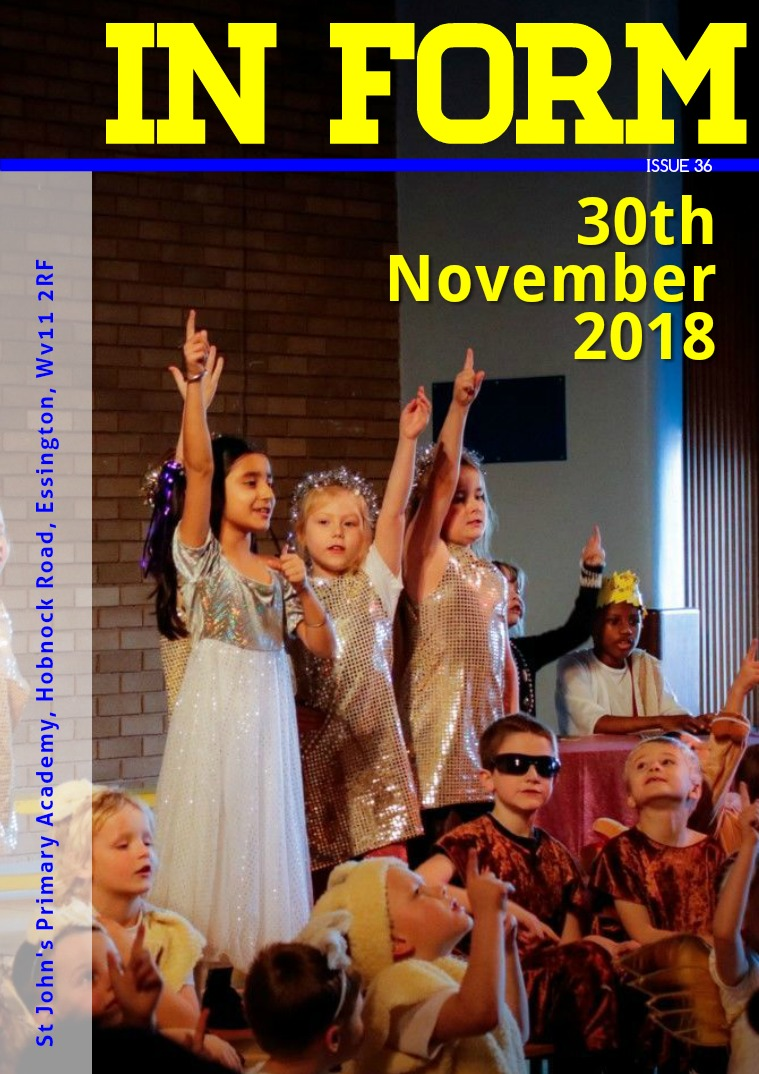 Newsletters | St John's Primary Academy Newsletter -Friday 30th November 2018