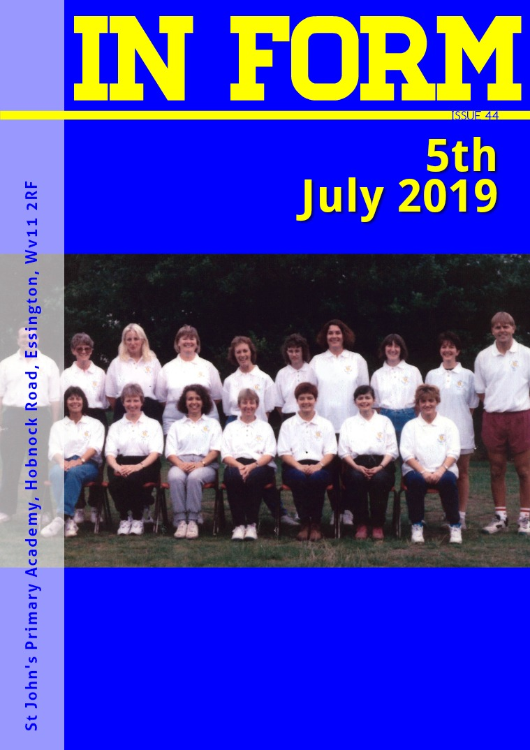 Newsletters | St John's Primary Academy Newsletter - 5th July 2019