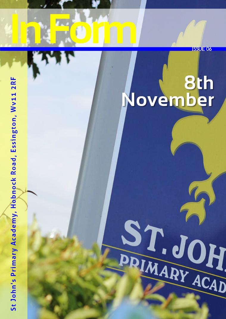 Newsletter - 8th November 2016
