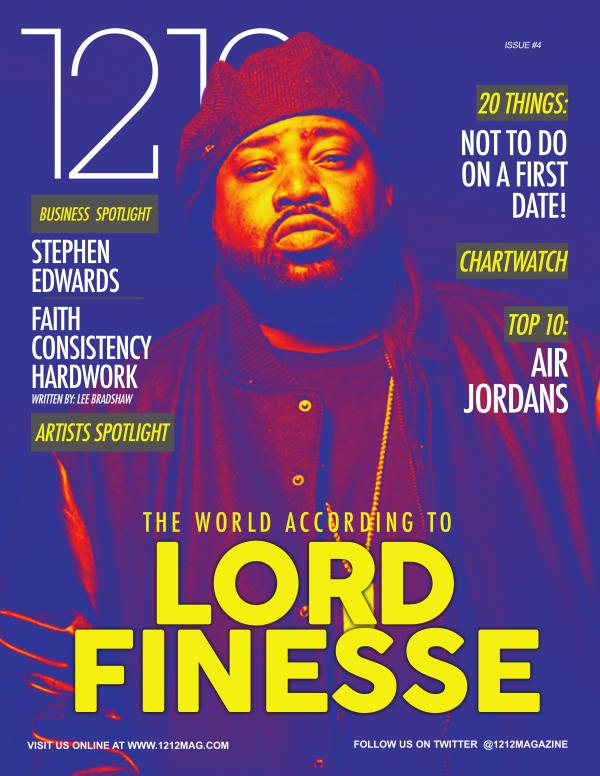 1212 Magazine featuring Lord Finesse, Illflo and more