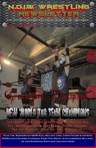NDIW Wrestling Magazine May. 2013.