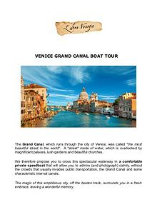 All about Venice
