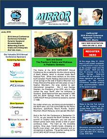 The Mirror - the Newsletter of CAPD ACDP June 2018