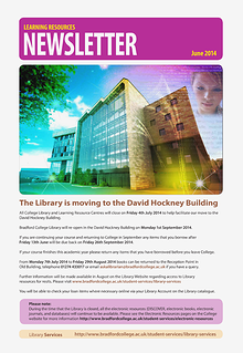 Learning Resources Newsletter