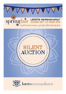 Spring Fair 2013 Silent Auction Booklet