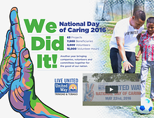 United Way National Day Of Caring Supplement