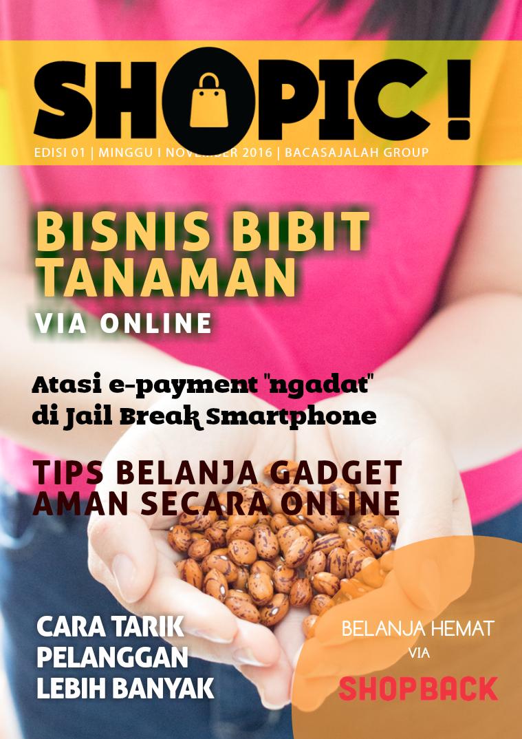 SHOPIC! Bisnis Bibit Online!