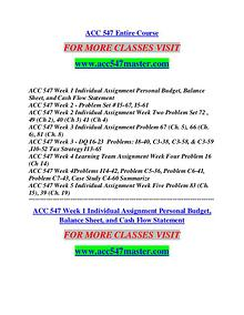 ACC 547 MASTER Learn by Doing/acc547master.com