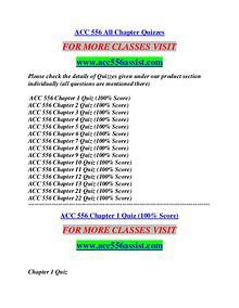 ACC 556 ASSIST Learn by Doing/acc556assist.com