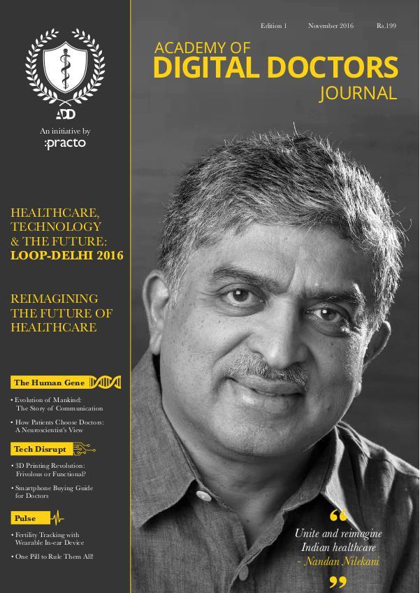 Academy of Digital Doctors Journal Edition 1