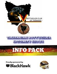 ROTTWEILER CHAMP SHOWS TASMANIA
