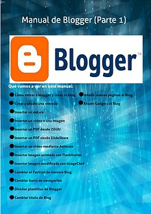 Manual de Blogger (Parte1)