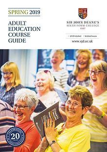 Adult Education: Spring 2019 Prospectus